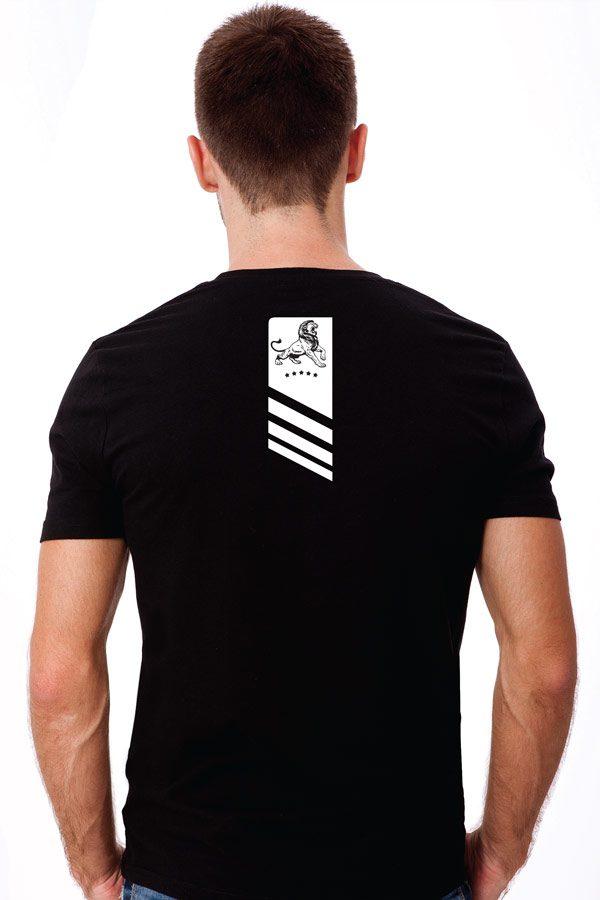 lion black back