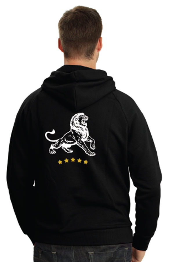 passion driven hoodie back