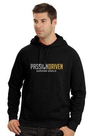 passion driven hoodie front