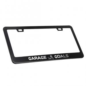 Garage Goals License Plate Frame