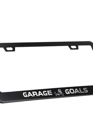 Garage Goals License Plate Frame