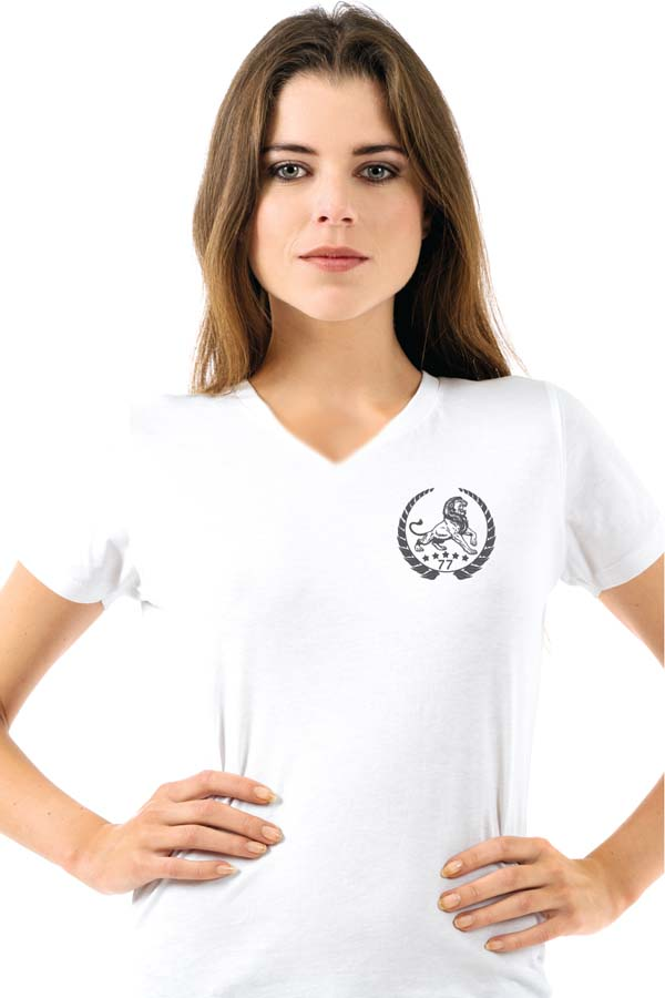 Lion Clasic front white
