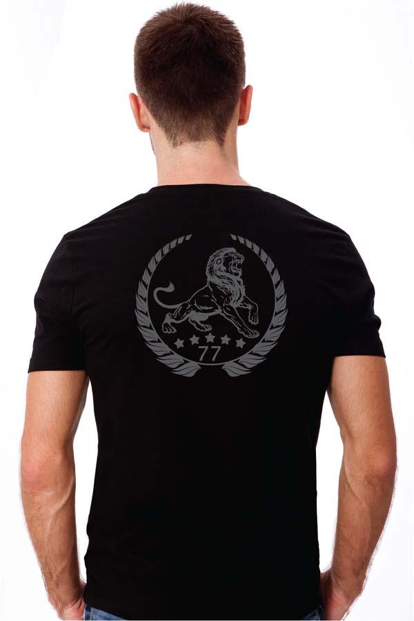 Lion Classic black back