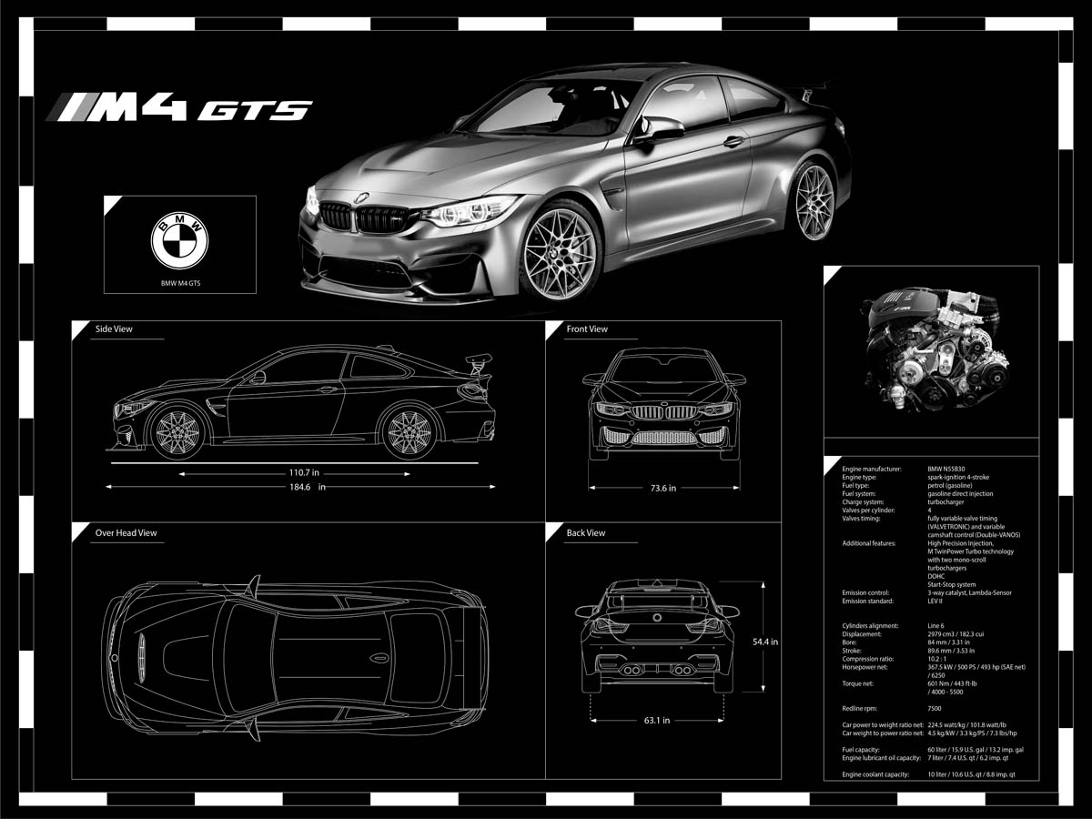 Engraved car blueprint on sale at garage goals official custom car art all art will be customized by garage goals art department malvernweather Gallery