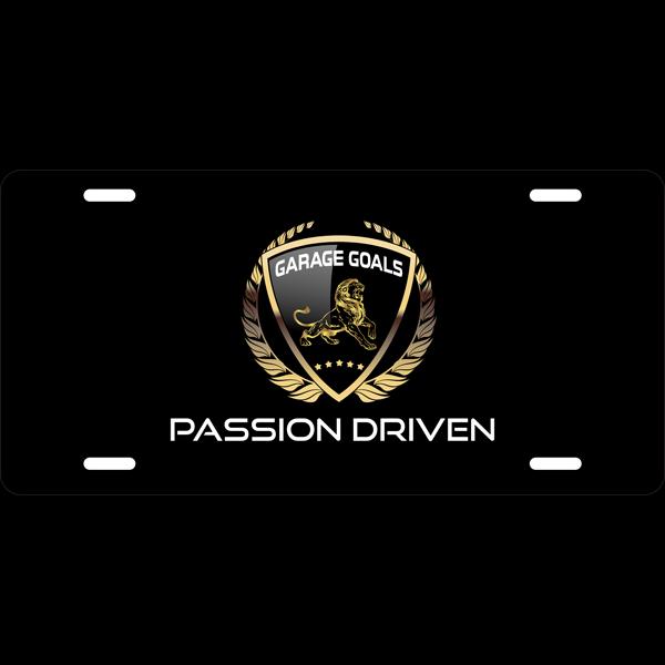 garage goals passion driven