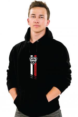 GG star M hoodie black