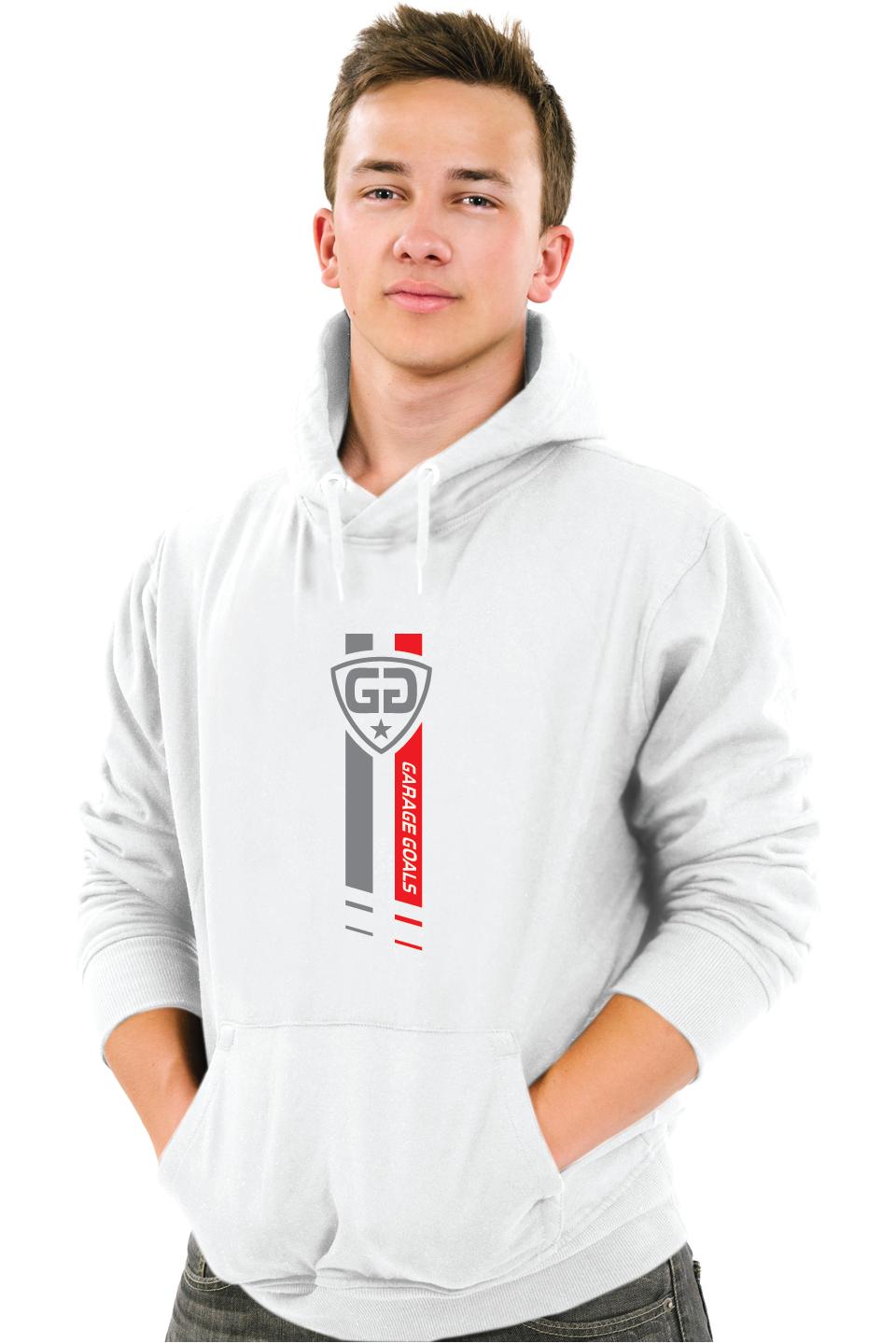GG star M hoodie white