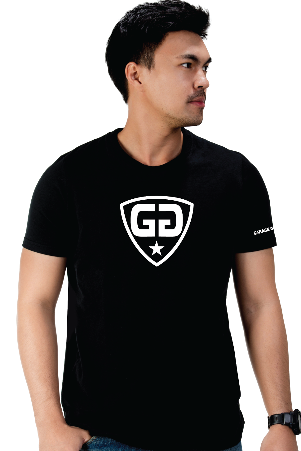 gg center shield black