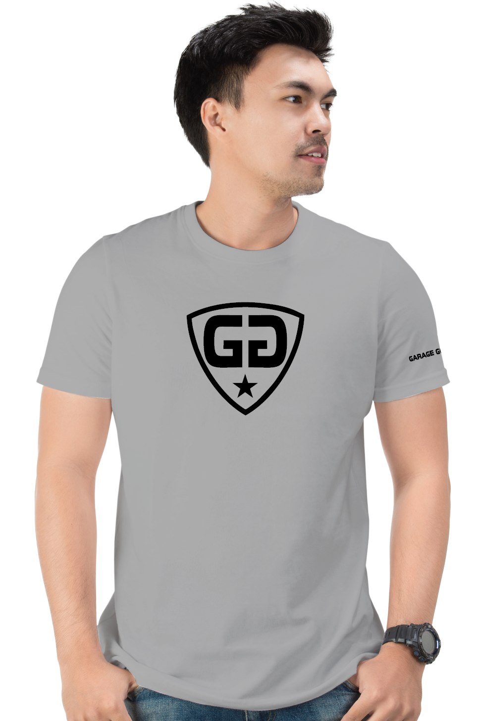gg center shield gray