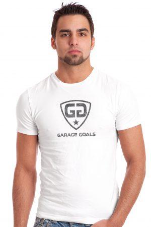 GG Mod fade white T