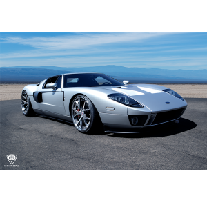 ford gt silver preview